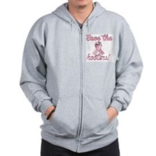 save the hoote Zip Hoodie