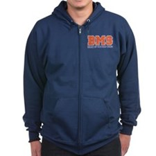 BMS Party At The Goat House Zipped Hoodie