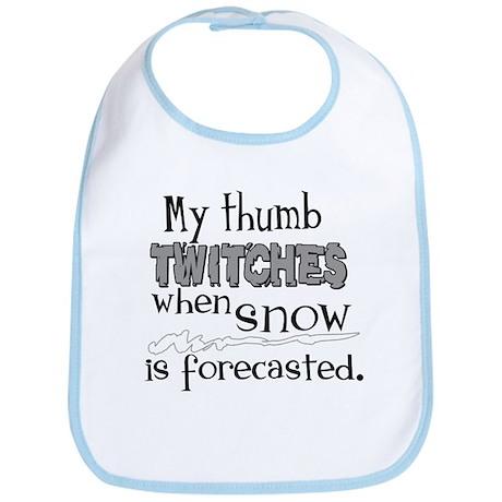 Thumb Twitches Bib