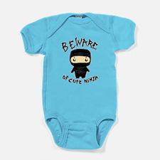 Cute Ninja Baby Bodysuit