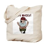 Ahoy Matey Pirate Tote Bag