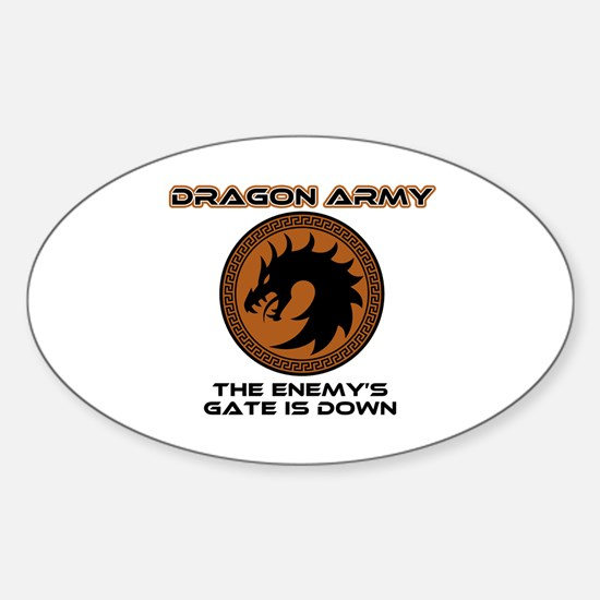 Enders Game Dragon Army Decal