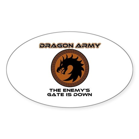 Enders Game Dragon Army Sticker