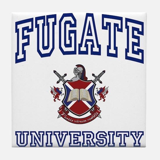 FUGATE University Tile Coaster
