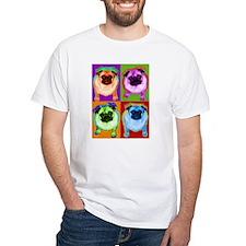 Warhol Inspired Pug Dog T-Shirt