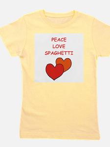 spaghetti Girl's Tee