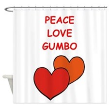 gumbo Shower Curtain