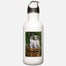 Cool Smiling dog Water Bottle