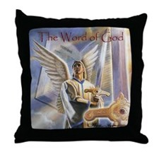 """Word of God"" Fine Art Sword of the Spirit Pillow"