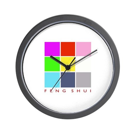 Feng shui modern wall clock by comofunnies for Modern feng shui