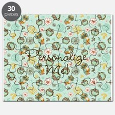 Whimsical Owl Pattern Puzzle