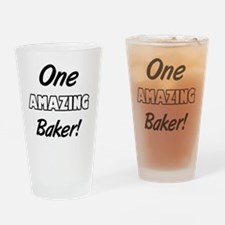 One Amazing Baker Drinking Glass