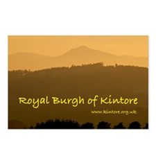 2-Kintore T-shirt Postcards (Package of 8)
