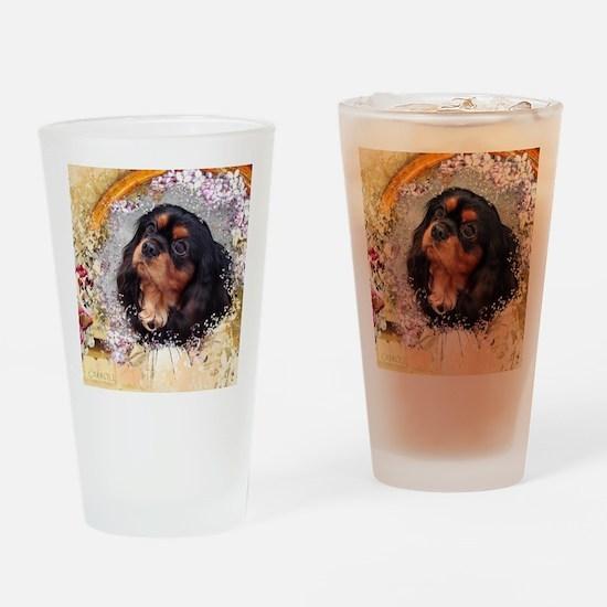 Cavalier King Charles Spaniel Drinking Glass