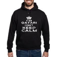 I Am Qatari I Can Not Keep Calm Hoodie