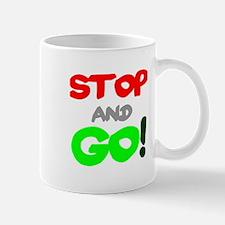 STOP GO! 2 Mugs