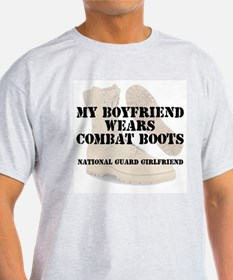 National Guard Girlfriend wears DCB T-Shirt
