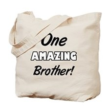 One Amazing Brother Tote Bag
