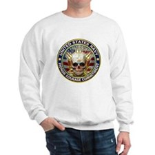 USN Navy Eagle Skull Sweatshirt