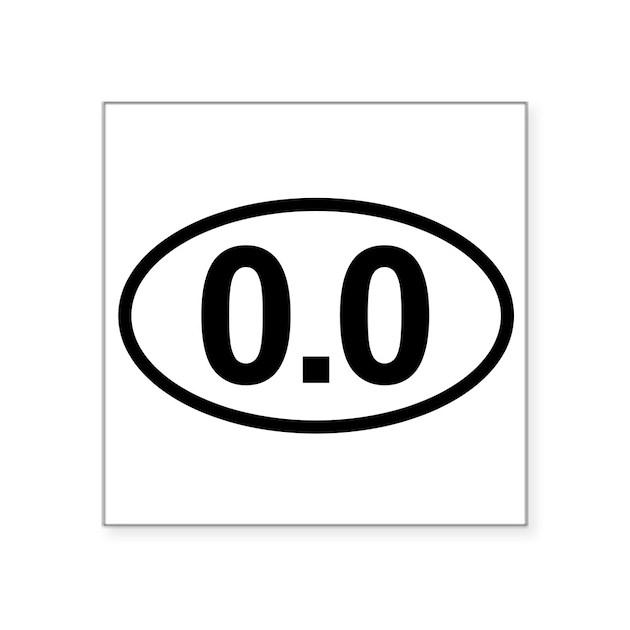 0 0 Zero Marathon Runner Sticker By Admin Cp10594512