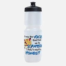 Scrapbooking Voices Sports Bottle
