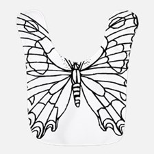 butterfly coloring Bib