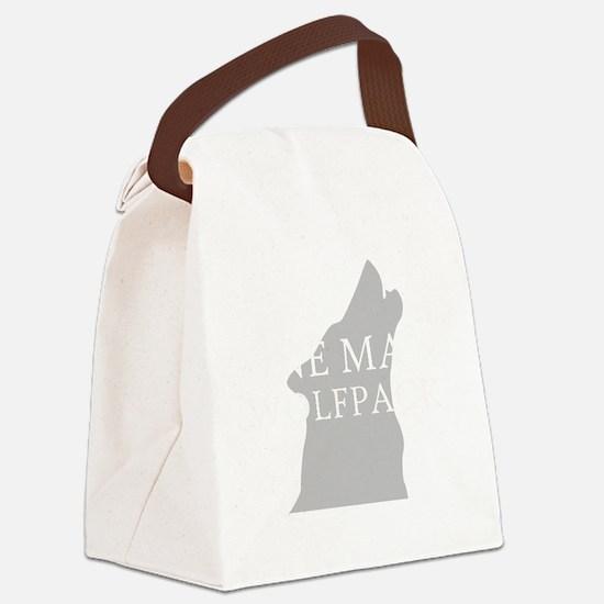 ONE MAN PACK DARK Canvas Lunch Bag