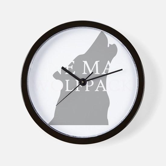ONE MAN PACK DARK Wall Clock