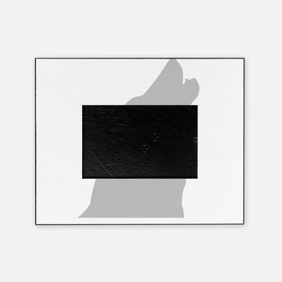 ONE MAN PACK DARK Picture Frame