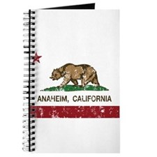 california flag anaheim distressed Journal