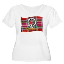MacBean Clan Plus Size T-Shirt