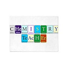 Chemistry Teacher 5'x7'Area Rug