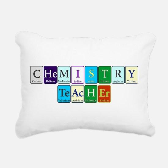 Chemistry Teacher Rectangular Canvas Pillow
