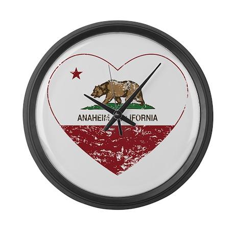 california flag anaheim heart distressed Large Wal