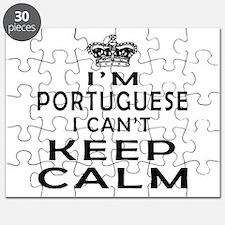 I Am Portuguese I Can Not Keep Calm Puzzle