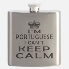 I Am Portuguese I Can Not Keep Calm Flask