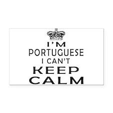 I Am Portuguese I Can Not Keep Calm Rectangle Car