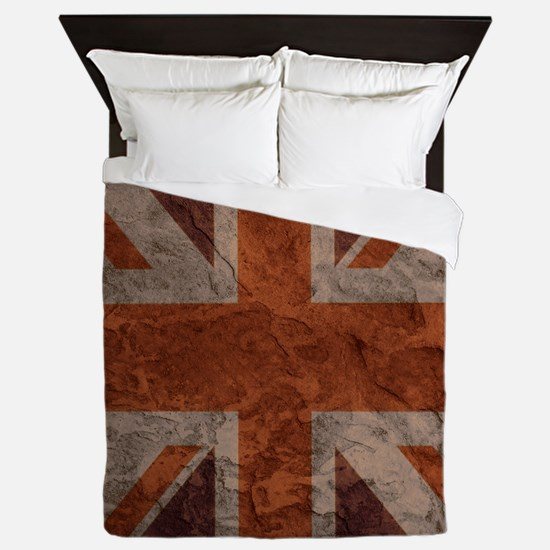 Rock Wall Union Jack queen duvet Queen Duvet