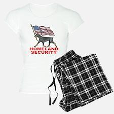 DOBERMAN HOMELAND SECURITY Pajamas