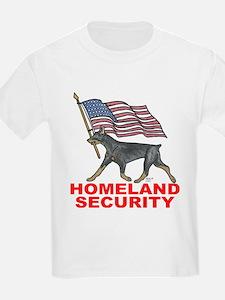 DOBERMAN HOMELAND SECURITY T-Shirt
