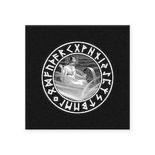 Frigg Rune Shield Sticker