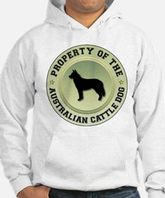 Cattle Dog Property Hoodie