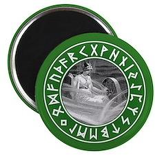 Frigg Rune Shield Magnets