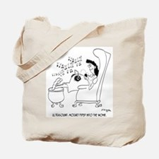 Ultrasound: Mozart in the Womb Tote Bag
