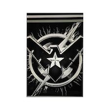Capt NightFlash Rectangle Magnet