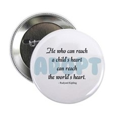 """Foster Care and Adoption 2.25"""" Button"""