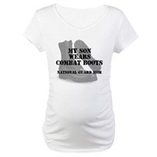 National Guard Mom Son wears CB Shirt