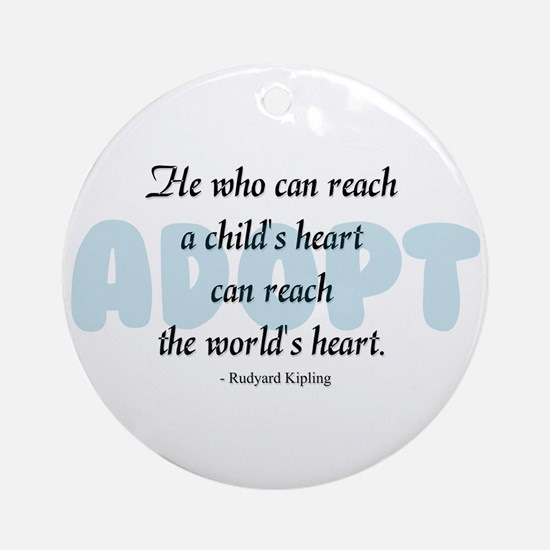Foster Care and Adoption Ornament (Round)