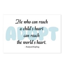Foster Care and Adoption Postcards (Package of 8)