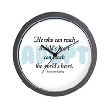 Foster Care and Adoption Wall Clock